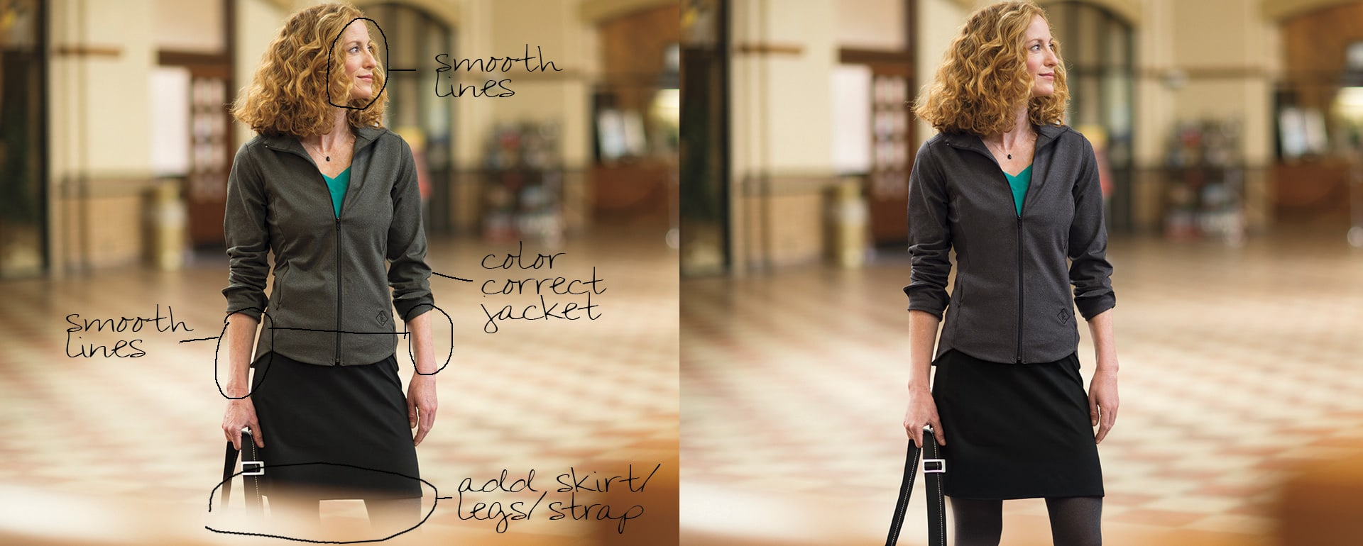 Apparel Product Photography photoshop