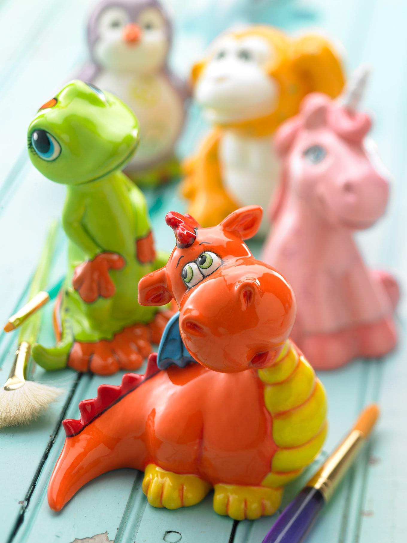 Gare Ceramic Figurines